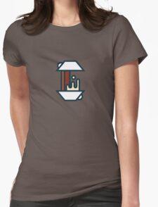 Coffee Splash Womens Fitted T-Shirt