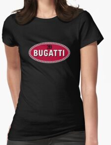 bugatti retro Womens Fitted T-Shirt