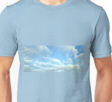Clouds in blue sky Unisex T-Shirt