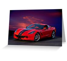 2015 Corvette Z51 Stingray I Greeting Card