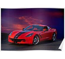 2015 Corvette Z51 Stingray I Poster