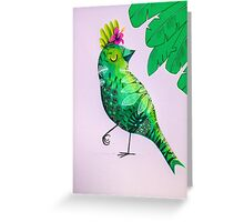 Jungle dress-up Greeting Card