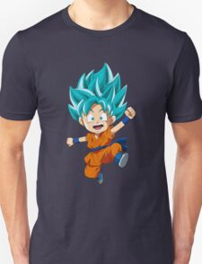 Super Saiyan Blue Chibi Goku T-Shirt
