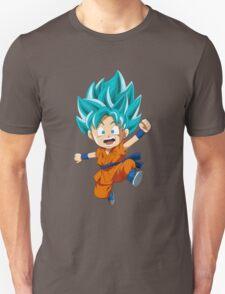 Super Saiyan Blue Chibi Goku Unisex T-Shirt