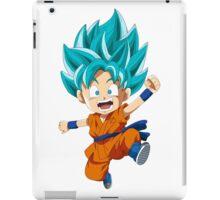 Super Saiyan Blue Chibi Goku iPad Case/Skin