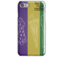 HIMYM iPhone Case/Skin