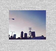 City skyline at dusk Unisex T-Shirt