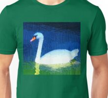 Floating swan abstract 2 Unisex T-Shirt