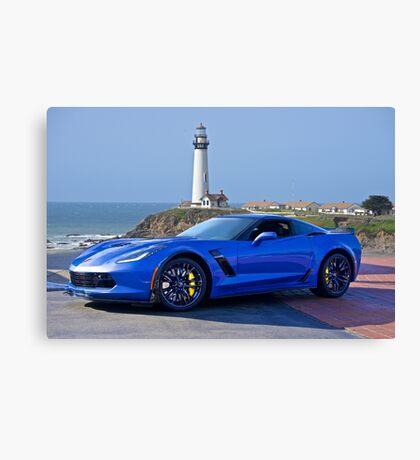 2016 Corvette Z06 Coupe Canvas Print
