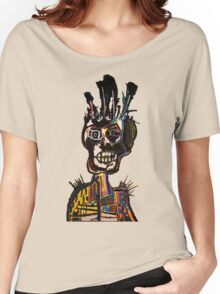 Basquiat African Skull Man Women's Relaxed Fit T-Shirt
