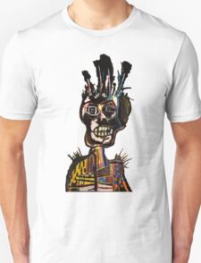 Basquiat African Skull Man T-Shirt