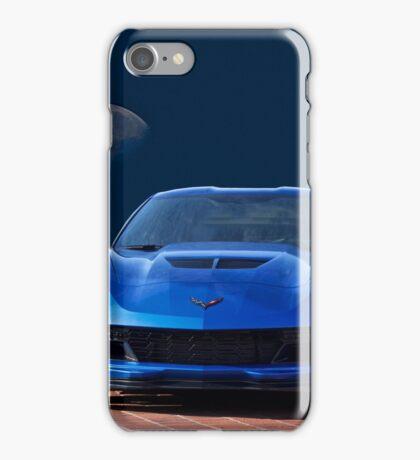 Chevrolet Corvette C7 'Blue Moon' iPhone Case/Skin