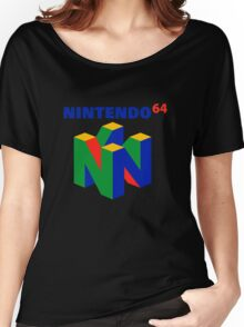 nintendo 64 old retro Women's Relaxed Fit T-Shirt