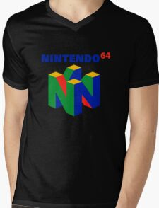 nintendo 64 old retro Mens V-Neck T-Shirt