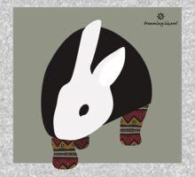 pattern rabbit One Piece - Long Sleeve