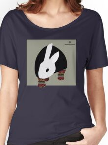 pattern rabbit Women's Relaxed Fit T-Shirt