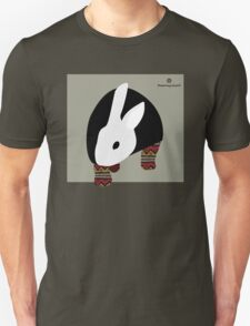 pattern rabbit T-Shirt