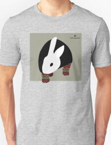 pattern rabbit T-Shirt