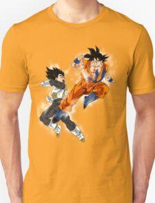 Goku vs. Vegeta Unisex T-Shirt