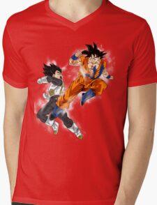 Goku vs. Vegeta Mens V-Neck T-Shirt