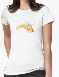 Neep The Needle Felted Dragon Womens Fitted T-Shirt