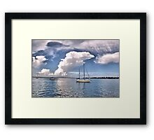 Big Florida Sky Framed Print