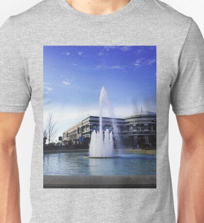 Easton Town Center fountain Unisex T-Shirt