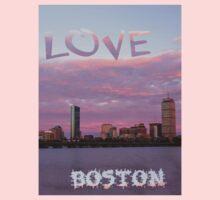 Love Boston One Piece - Long Sleeve