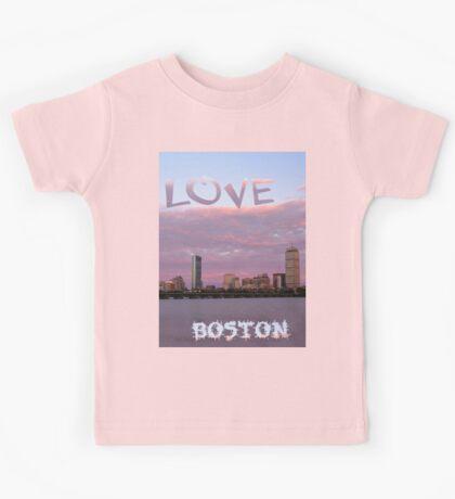 Love Boston Kids Tee