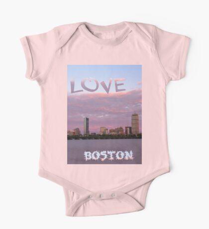 Love Boston One Piece - Short Sleeve