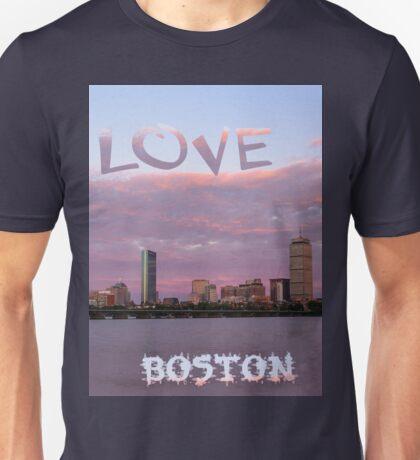 Love Boston Unisex T-Shirt