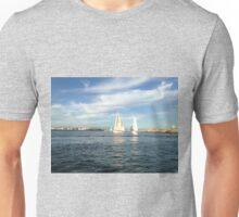 Boats in Marina Del Rey Unisex T-Shirt