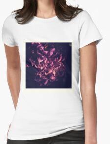 dry purple flower Womens Fitted T-Shirt