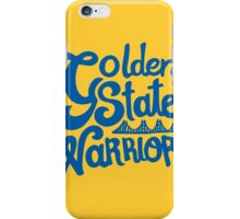 Golden State Warriors iPhone Case/Skin