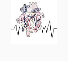 Heart Monitor Mens V-Neck T-Shirt