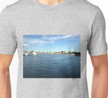 Houses in Marina Del Rey Unisex T-Shirt