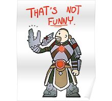 Smite - That's not funny (Chibi) Poster