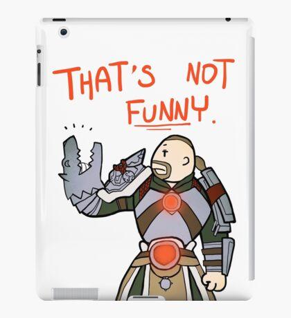 Smite - That's not funny (Chibi) iPad Case/Skin