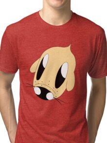 Puppy-So-Cute Face Tri-blend T-Shirt