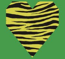 0163 Daffodil Tiger Kids Tee