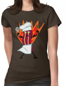 Baking Bits! Womens Fitted T-Shirt