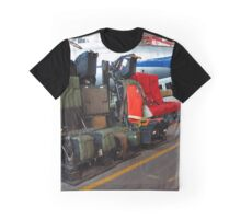 Aircraft Seats - American Airpower Museum | Farmingdale, New York Graphic T-Shirt