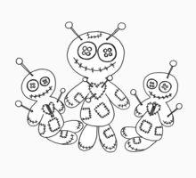 Voodoo Friends Trio Kids Tee
