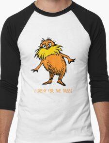 I Speak For The Trees - Lorax Men's Baseball ¾ T-Shirt
