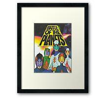G force Framed Print