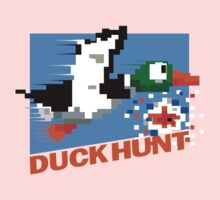 Duck Hunt Retro Cover Kids Tee