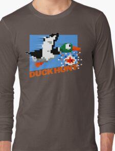 Duck Hunt Retro Cover Long Sleeve T-Shirt