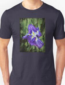 Japanese iris Unisex T-Shirt