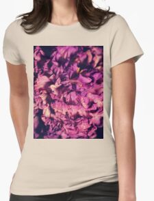 dry purple flower - 2nd Womens Fitted T-Shirt