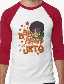 Benny Jet! Men's Baseball ¾ T-Shirt